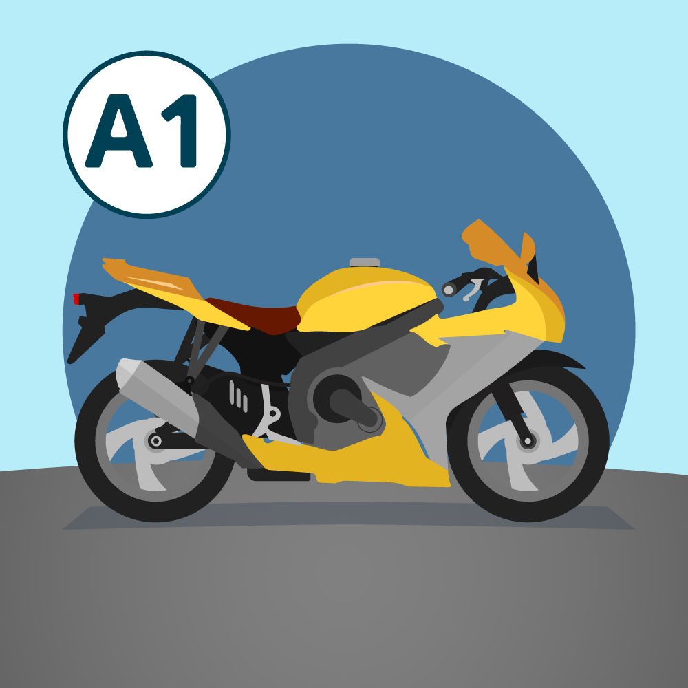 Permis moto A 1