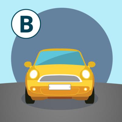 Permis voiture B