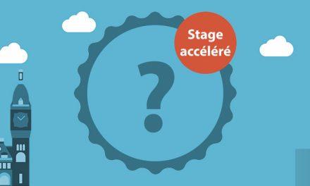 Qu'est-ce que la formation accélérée (par stage) et à qui s'adresse t'elle ?