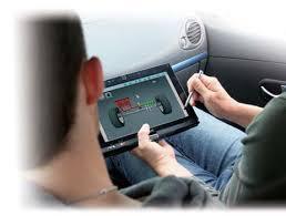 Suivi sur tablette numérique