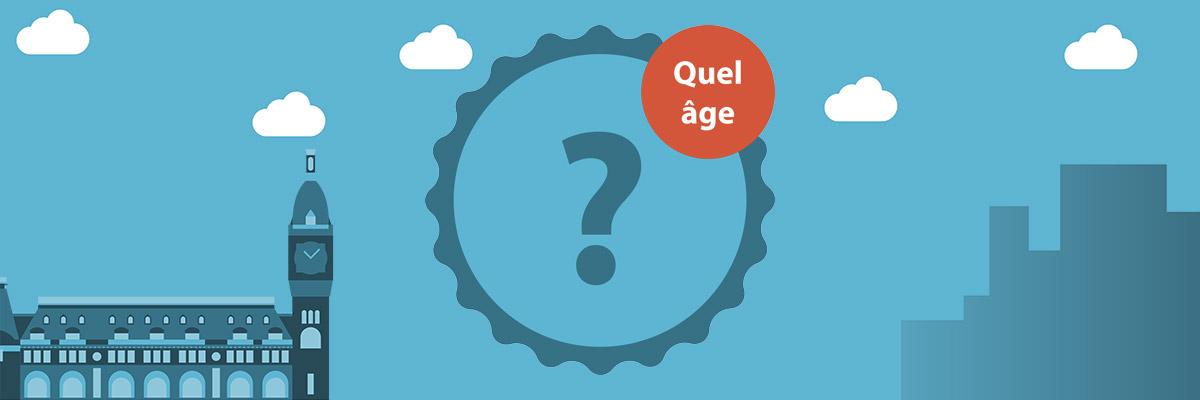 A partir de quel âge m'inscrire ?
